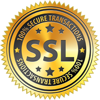 100% SSL Certification for secure transactions