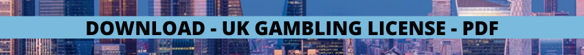 Gambling license uk report